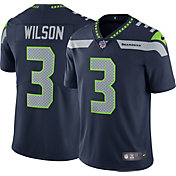 Nike Men's 100th Home Limited Jersey Seattle Seahawks Russell Wilson #3