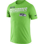 Nike Men's Seattle Seahawks Sideline Legend Performance Green T-Shirt