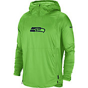 Nike Men's Seattle Seahawks Sideline Repel Player Green Jacket