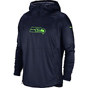 Nike Men's Seattle Seahawks Sideline Repel Player Navy Jacket