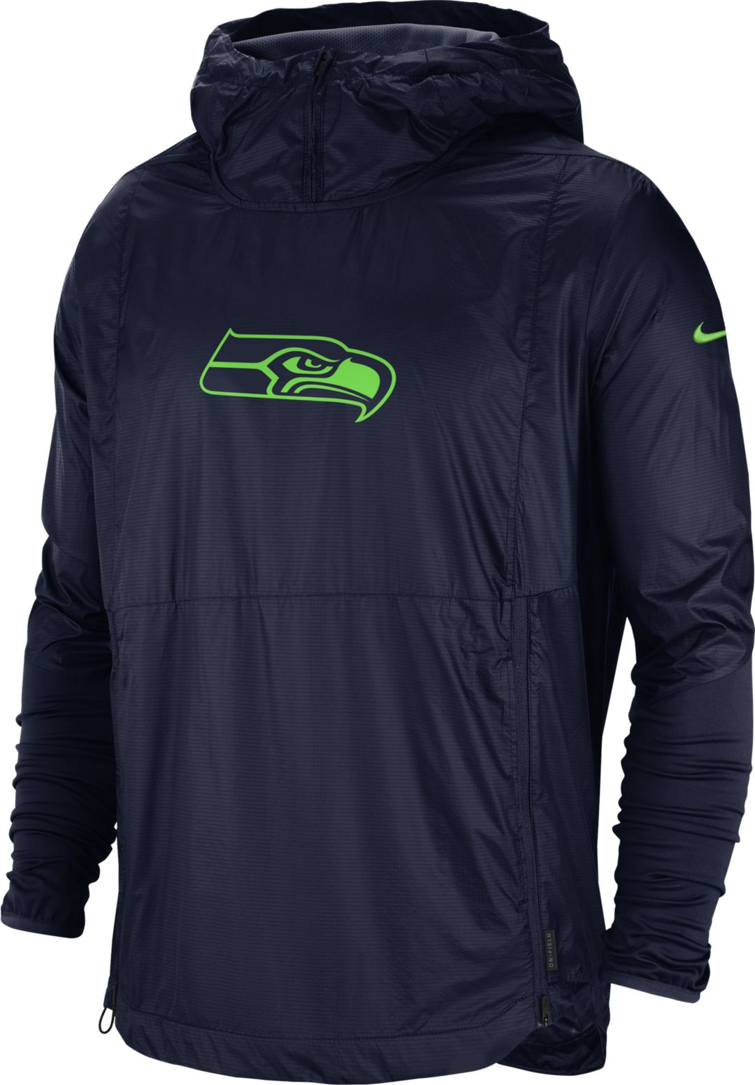 low priced e7415 e17be Nike Men's Seattle Seahawks Sideline Repel Player Navy Jacket