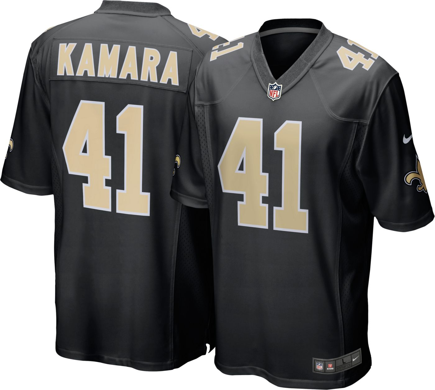 Nike Men's Home Jersey New Orleans Saints Alvin Kamara #41