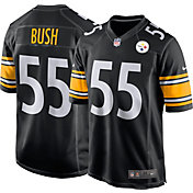 fc8708f9b0d Product Image · Devin Bush  55 Nike Men s Pittsburgh Steelers Home Game  Jersey