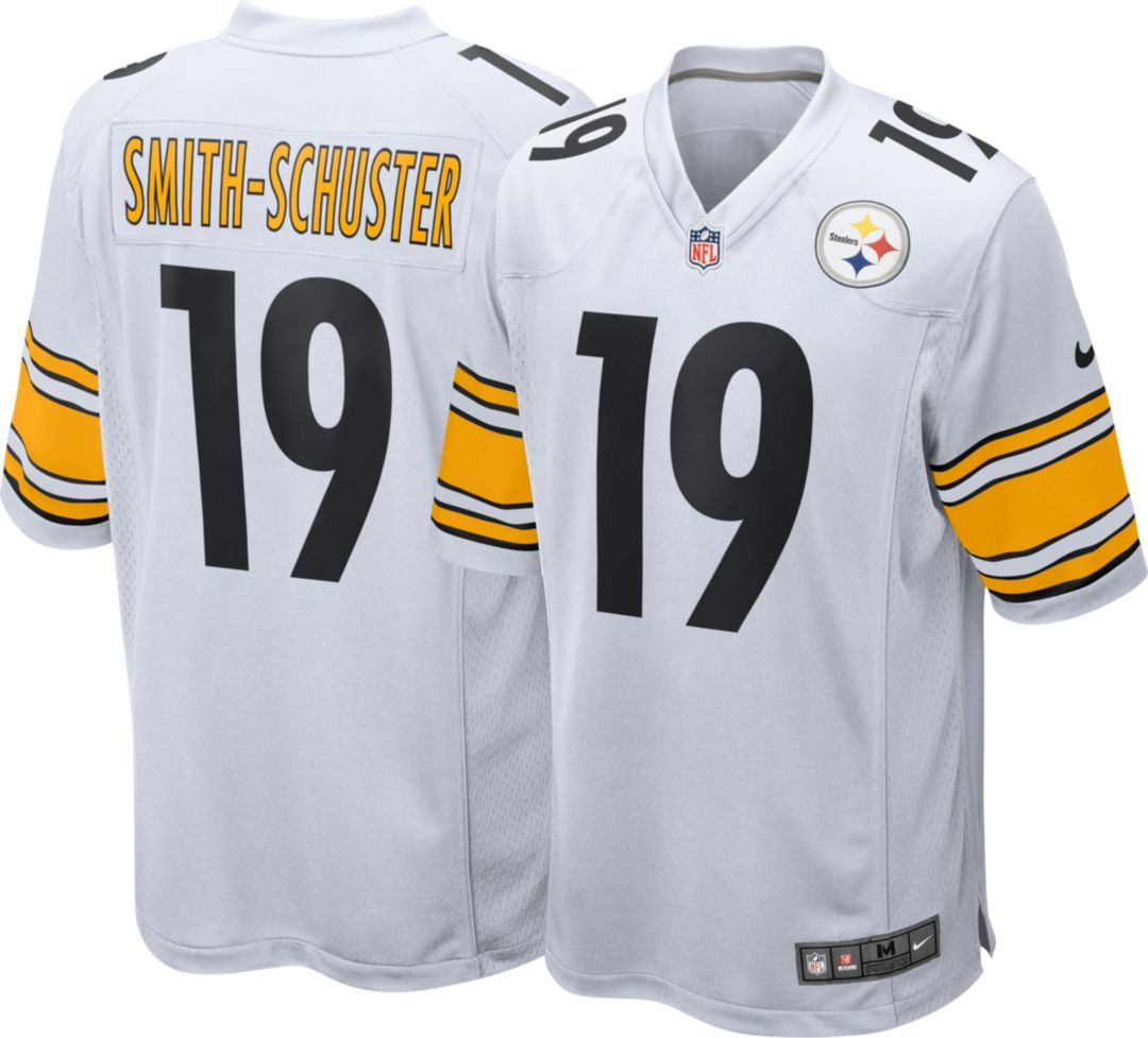hot sales 94571 f422f Nike Men's Away Game Jersey Pittsburgh Steelers JuJu Smith-Schuster #19