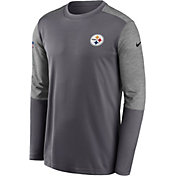 Nike Men's Pittsburgh Steelers Coaches Sideline Long Sleeve Shirt