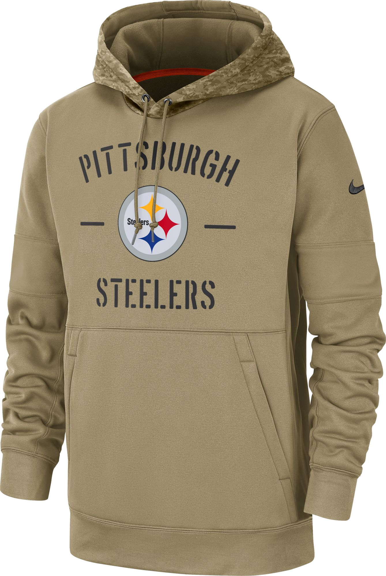 Pittsburgh Steelers Therma-FIT Beige