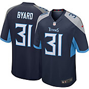 Nike Men's Tennessee Titans Kevin Byard #31 Navy Game Jersey