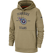 Nike Men's Salute to Service Tennessee Titans Therma-FIT Beige Camo Hoodie
