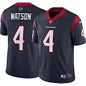 Nike Men's 100th Home Limited Jersey Houston Texans Deshaun Watson #4
