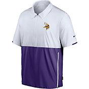 Nike Men's Minnesota Vikings Coaches Sideline Half-Zip Jacket