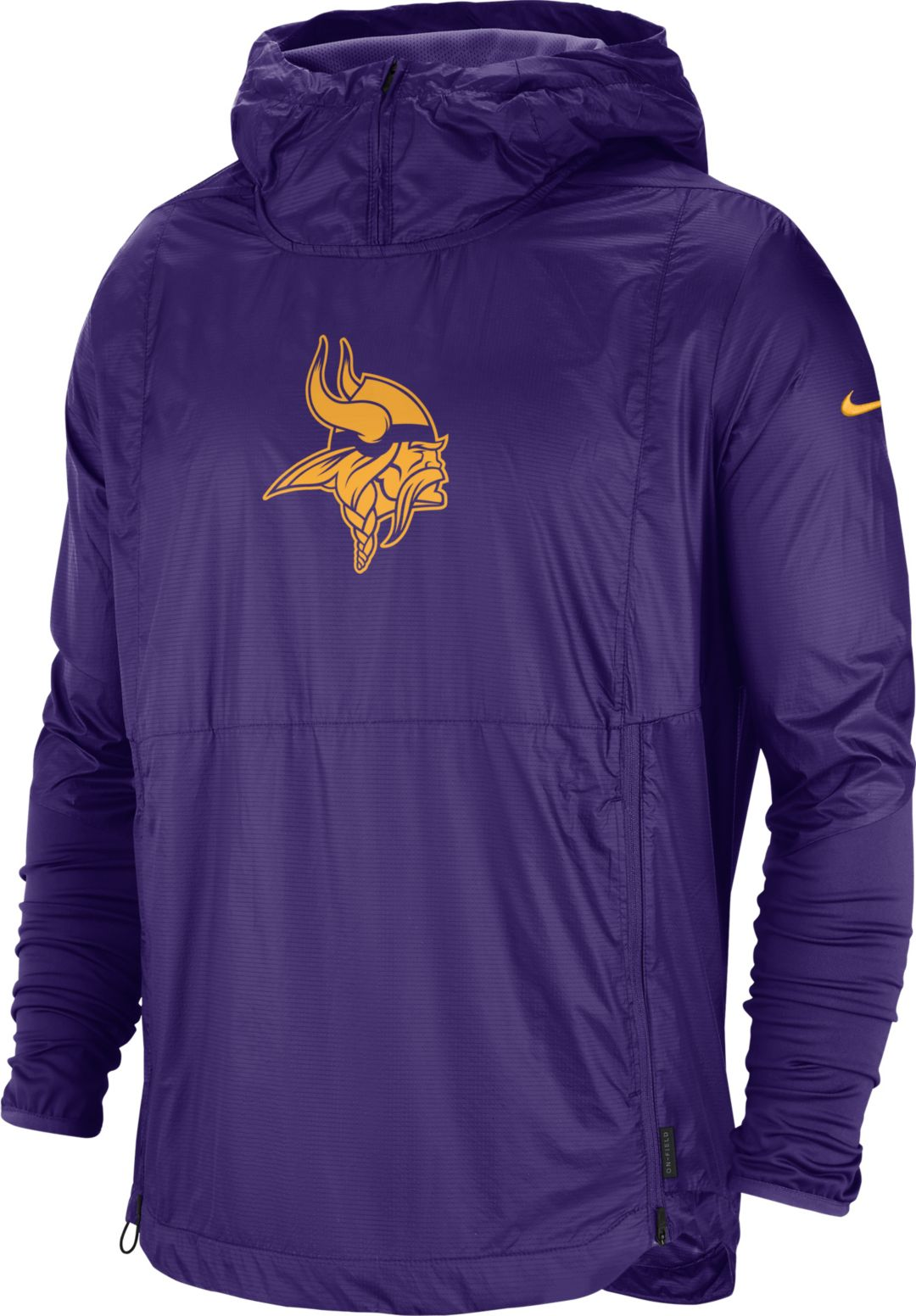 los angeles 52ac5 d0420 Nike Men's Minnesota Vikings Sideline Repel Player Purple Jacket