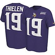Nike Men's Minnesota Vikings Adam Thielen #19 100th Purple T-Shirt
