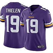 Nike Men's 100th Home Limited Jersey Minnesota Vikings Adam Thielen #19