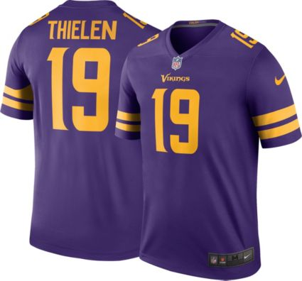 Nike Men's Color Rush Legend Purple Jersey Minnesota Vikings Adam