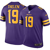 Nike Men's Color Rush Legend Purple Jersey Minnesota Vikings Adam Thielen #19