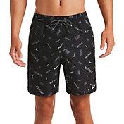 Nike Men's Logofetti Lap Volley Swim Trunks (Regular and Big & Tall)