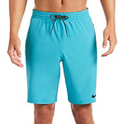 Nike Men's Logo Tape Racer Volley Swim Trunks