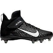 2484beee7e3 Product Image · Nike Men s Alpha Menace Pro 2 D Football Cleats. Black White