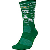 Nike Men's Elite Christmas Crew Socks