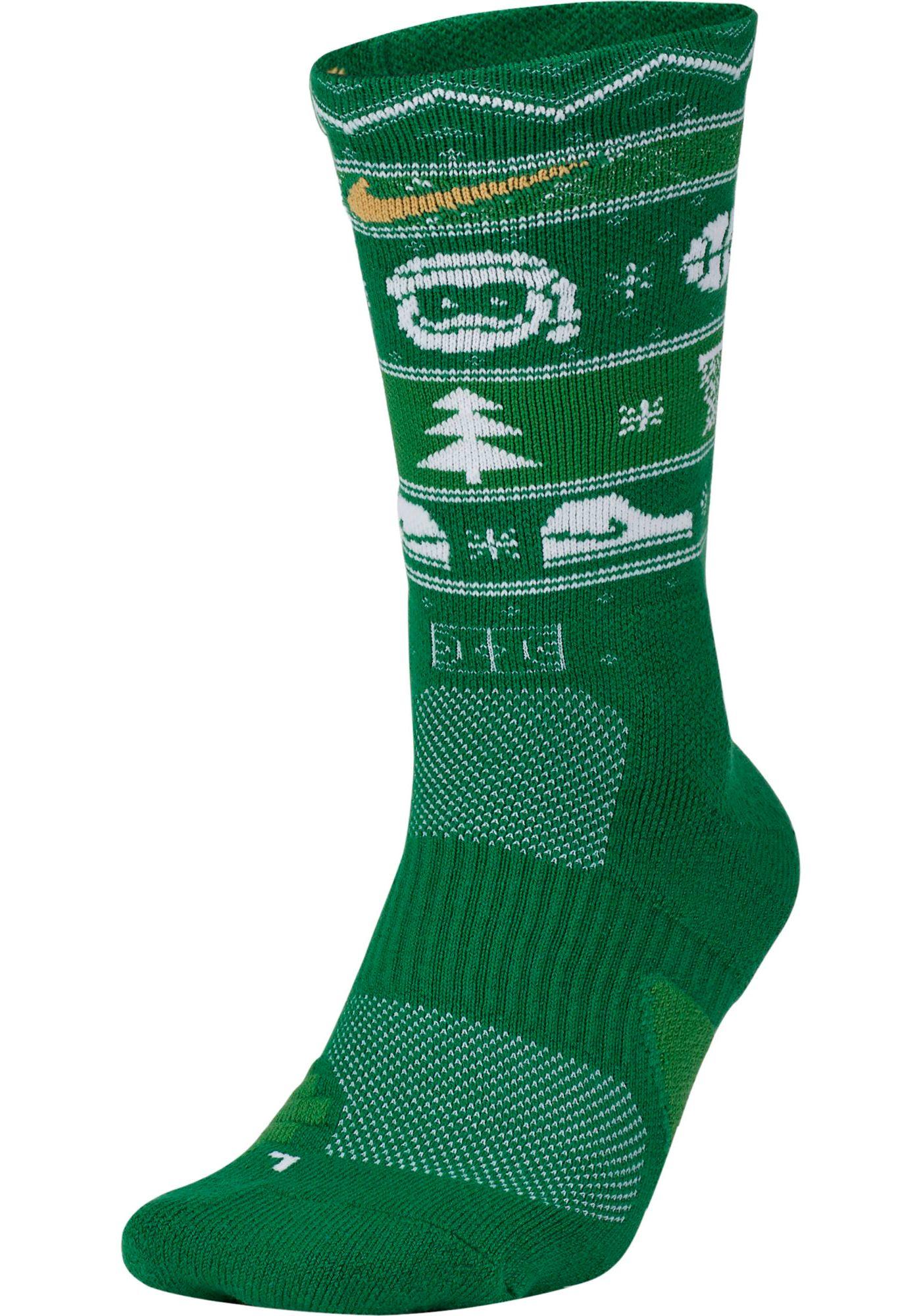 Nike Men's Elite Christmas Crew Socks