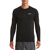 Nike Men's Essential Long Sleeve Hydro Rash Guard