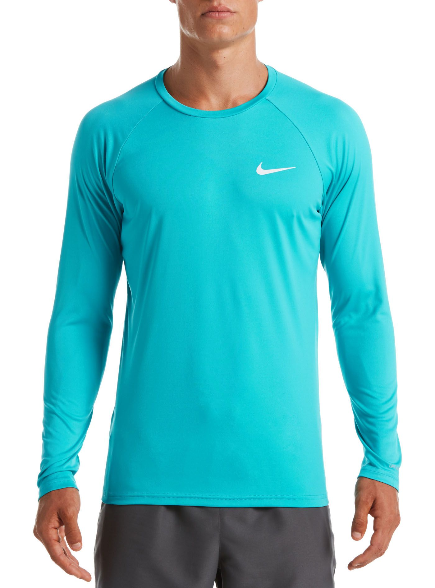 Nike Men's Essential Long Sleeve Hydro Rash Guard