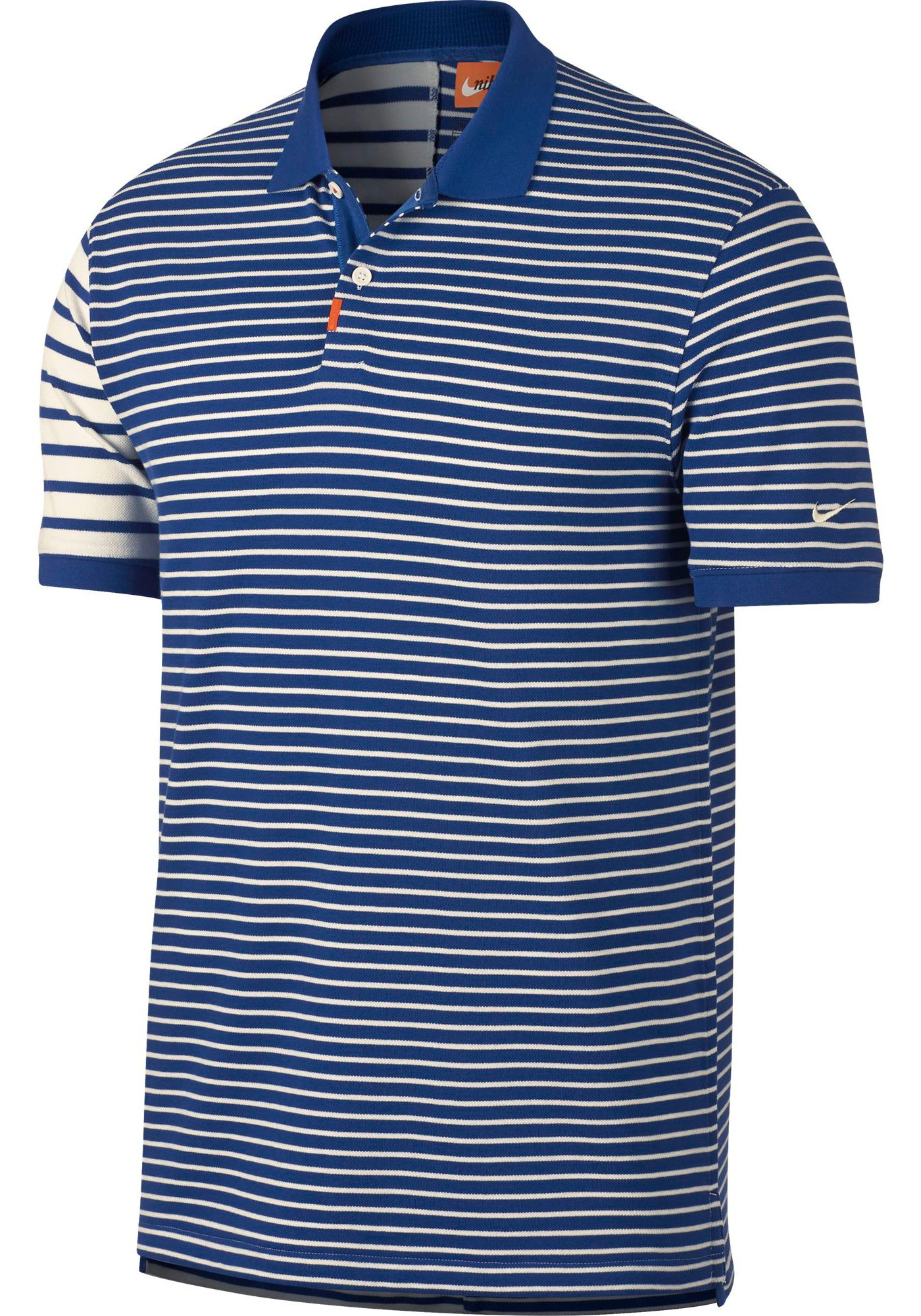 Nike Men's Stripe Block Golf Polo