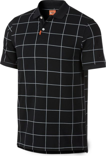Nike Men's Windowpane Golf Polo