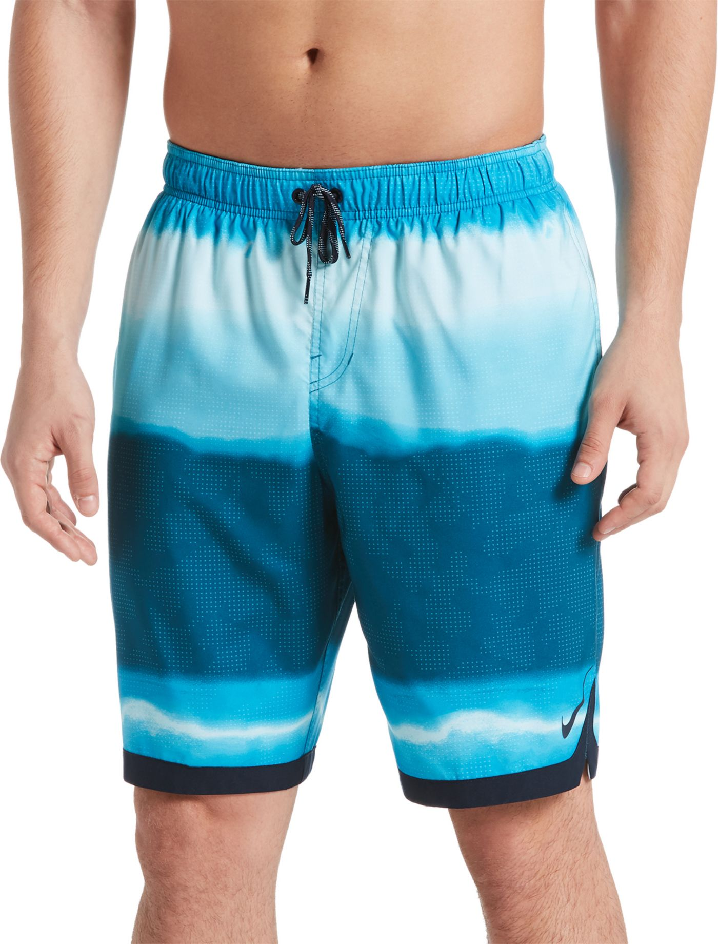 Nike Men's Optic Halo Horizon Swim Trunks