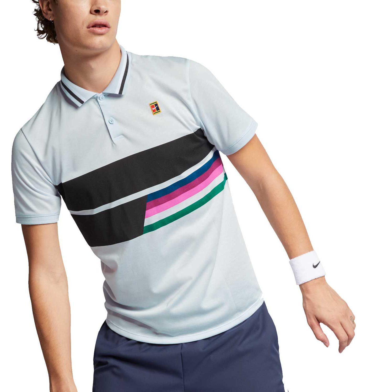 Nike Men's Roger Federer NikeCourt Advantage Dri-FIT Tennis Polo