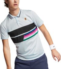 NIKE ROGER FEDERER TENNIS COURT SLIM FIT POLO SHIRT SIZE L MEN NWT $$$$