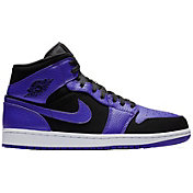 29a76d7aaef9b9 Product Image · Jordan Air Jordan 1 Mid Basketball Shoes. Black Dark  Concord White