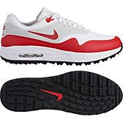 Nike Men's Air Max 1 G Golf Shoes