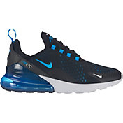 Nike Men's Air Max 270 Shoes in Black/Blue