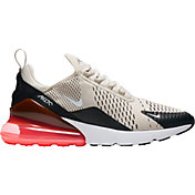Nike Men's Air Max 270 Shoes in Black/Hot Punch