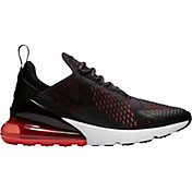 Nike Men's Air Max 270 Shoes in Black/Red