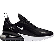 Nike Men's Air Max 270 Shoes in Black/White/Solar Red