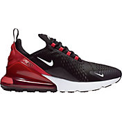 Nike Men's Air Max 270 Shoes in Black/White/Universityred