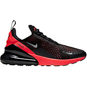 Nike Men's Air Max 270 Shoes in Blk/Met/Silv/Crimson