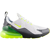 Nike Men's Air Max 270 Shoes in Platinum/Volt