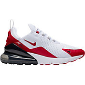 Nike Men's Air Max 270 Shoes in White/Red