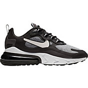 Nike Men's Air Max 270 React Shoes in Black/Vast Grey