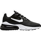 Nike Men's Air Max 270 React Shoes in Black/White/Black