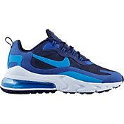 Nike Men's Air Max 270 React Shoes in Blu Void/Stardust/Blue
