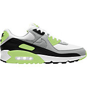 Nike Men's Air Max 90 Shoes in Grey/Green