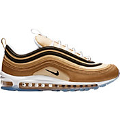 Nike Men's Air Max 97 Shoes in Black/Gold