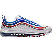 Nike Men's Air Max 97 Shoes in Game Royal/Metallic Silver