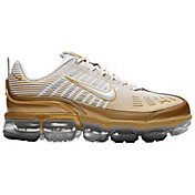Nike Men's Air Vapormax 360 Shoes in White/Gold
