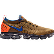 55486aafdf04 Product Image · Nike Men s Air VaporMax Flyknit 2 Running Shoes in  Orange Blue