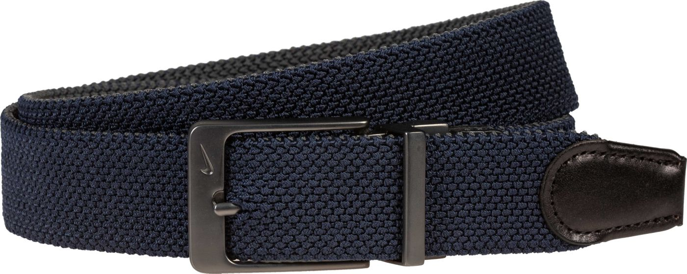 Nike Men's Reversible Woven Stretch Golf Belt